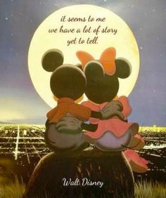 Vintage Disney Mickey Mouse and Minnie Mouse Poster Classic Unframed. ol skool ME!