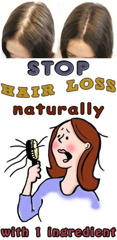 Stop hair loss naturally with 1 ingredient