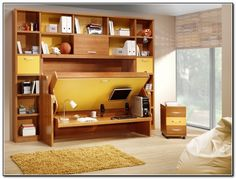 Attraktiv Murphy Bed Desk Plans