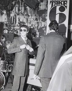 Interior of Take Six boutique in Carnaby Street, London 1966