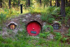Projetos da casa do Hobbit - habitat de inspiração para Hobbits ... e seres humanos!