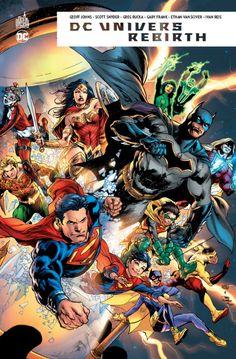 DC Univers REBIRTH (5 mai 2017) // Superman est mort, et Lex Luthor a pris sa place dans la Ligue de Justice ainsi qu'en tant que protecteur de Metropolis ! Mais un autre Homme d'Acier est prêt à le remplacer, et un ancien héros oublié fait sa réapparition auprès de Flash. Des événements qui annoncent l'un des plus grands mystères à l'oeuvre dans l'Univers des héros DC. #dcunivers #dcrebirth #urbancomics #dccomics
