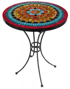 Mumbai Mosaic Table