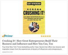 #CrushingIt! #Book Now Available.... #garyvee #garyvaynerchuk #motivational #motivationalquotes
