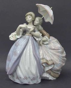Lladro, a Cuban Favorite Dresden, Willow Tree Figurines, Powder Paint, Indian Dolls, Porcelain Ceramics, China Porcelain, Creations, Sculpture, Drawings