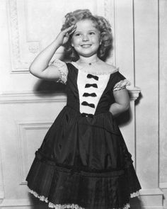 salute...  Shirley Temple