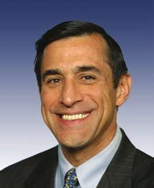 CA Congressman, Darrell Issa