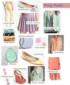 #pastels #fashion