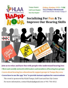 Hearing Loss Association of America - Florida's Gulf Coast Clearwater Area Sun City, Coast, Join, Florida, Language, America, Education, The Florida