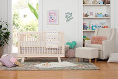 AmazonSmile : Babyletto Hudson 3-in-1 Convertible Crib with Toddler Bed Conversion Kit, White : Baby