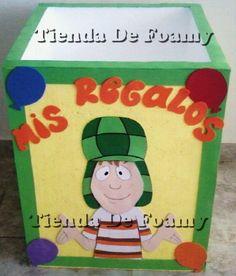 Caja de regalos chavo del 8 party
