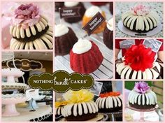Cute Bundt Cakes! w/Cream Cheese Frosting!