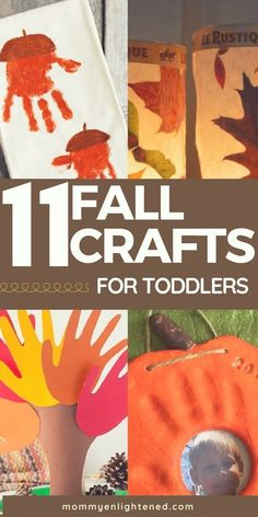 Fall crafts can be the most fun seasonal crafts of the year! Here are 11 amazing autumn art projects you can do with your toddler or younger kid. From simple and quick to keepsake-worthy, we have included them all!