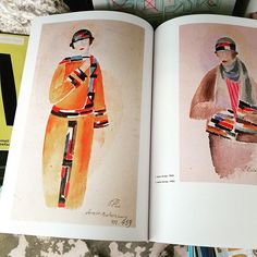 Vintage and so current. Bookstore browsing. #inspiration #ofr #zutano #trendspotting