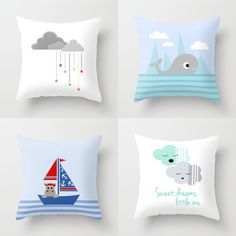 Expressing Myself : Nursery decor, cute throw pillow covers for kids on by Limitation Free Small Pillows, Kids Pillows, Decorative Pillows, Cushion Covers, Throw Pillow Covers, Throw Pillows, Pillow Room, Baby Crib Bedding, Cute Crafts