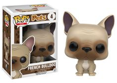 Funko POP! Pets Dogs French Bulldog #4 Vinyl Figure