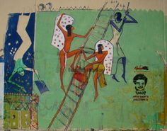 Clever use of Pharaonic imagery by Mohamed Mahmoud