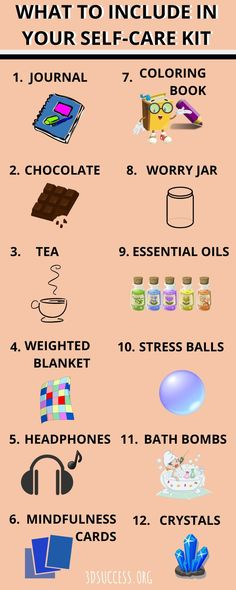 DIY Anxiety Self-Care Box/Gifts for People with Anxiety A self-care kit is an excellent stress management tool (and gift)! Here's how to make your own DIY anxiety self-care box and what items to include. Feeling Depressed, Feeling Overwhelmed, Anxiety Relief, Stress And Anxiety, Anxiety And Depression, Depression Journal, Anxiety Tips, Stress Management, Frases