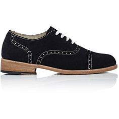 Esquivel Women's Wingtip Oxfords (822 680 LBP) ❤ liked on Polyvore featuring shoes, oxfords, gold, perforated shoes, lace up oxfords, wing tip shoes, wingtip oxford and leather sole shoes