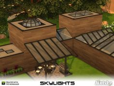 Sims 4 CC's - The Best: Skylights by Mutske