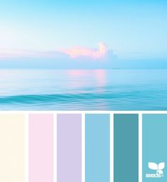 { color reflect } image via: 060116 today's inspiration image for { color reflect } is by . thank you, Ozge, for another gorgeous image share! Design Seeds celebrate colors found in nature and the aesthetic of purposeful living. Chose your color palette f Color Schemes Colour Palettes, Colour Pallette, Beach Color Palettes, Ocean Color Palette, Color Combinations, Design Seeds, Pastel Colors, Paint Colors, Colours