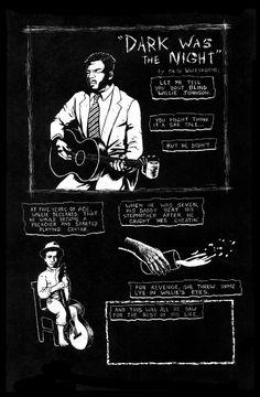 'Dark Was The Night' page 1 by SethWolfshorndl