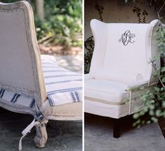 Great idea.  Love monogramming on something like this.