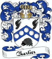 Chartier Coat of Arms  Chartier Family Crest   VIEW OUR FRENCH COAT OF ARMS / FRENCH FAMILY CREST PRODUCTS HERE