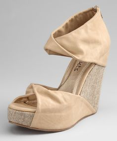 Another great find on #zulily! Coconuts Natural Marni Wedge by Coconuts #zulilyfinds