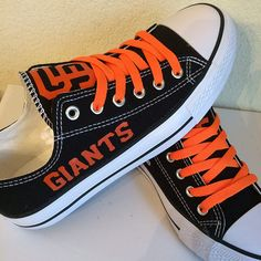 San Francisco Giants Converse Style Shoes - http://cutesportsfan.com/san-francisco-giants-designed-sneakers/