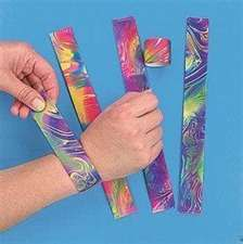 Slap bracelets! YES!