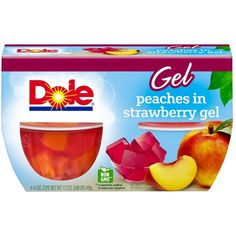 Dole Gel Bowls Mixed Fruit in Black Cherry Gel - 4 oz - 4 ct: Feel revitalized with the fresh taste of sun-ripened Dole all natural fruit. Fruit gives you healthy energy so you feel refreshed and ready to shine. Fruit Cups, Eat Fruit, Fruit Juice, Fruit Bowls, Strawberry Juice, Mixed Fruit, Fresh Fruit, Black Cherry Flavor, Nutrition Activities