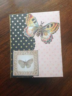 Mariposa Mini Album  Perfect for your 3x4 by GardenofCreativity, $40.00