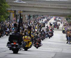 Harley Davidson 110th Anniversary Parade Milwaukee, WI