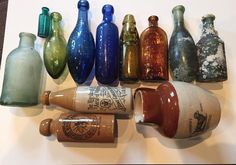 tx for sharing George Waddington, Bottle diggers and collectors: Not been able to post in a while due to working away from home so photographing a few bits from the collection today
