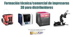 Formación técnica/comercial de impresoras 3d para distribuidores
