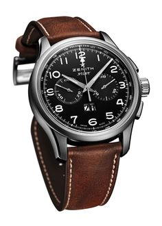 "GPHG ""La Petite Aiguille"" Watch Prize  ZENITH the Pilot Big Date Special (PR/Pics/Watch http://watchmobile7.com/data/News/2012/11/news-20121121-zenith_Pilot_Big_Date_Special.html) (1/3)"