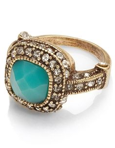 Zelda Deco Ring | Blue | Monsoon