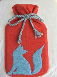 Pure Cashmere Hot Water Bottle Cover - Silver Fox // gift for him // gift for her // coworker gift Gifts For Coworkers, Gifts For Him, Shetland Wool, Cashmere Jumper, Bottle Cover, Crafts To Make, Water Bottle, Pure Products, Knitting