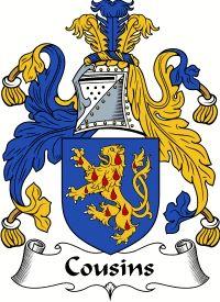 Cousins Family Crest / Cousins Coat of Arms