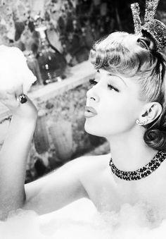 """msmildred:  Lana Turner in """"Ziegfeld Girl"""", 1941."""
