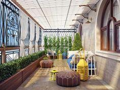Projekty, Balkon, taras i weranda zaprojektowane przez Sweet Home Design - homify / Sweet Home Design