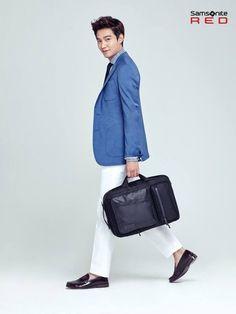 Lee Min Ho chosen as the new face of 'Samsonite Red' | allkpop