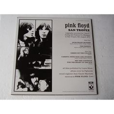 http://ring.cdandlp.com  Verso du 33 tours bleu : Pink floyd à St Tropez, 1970.