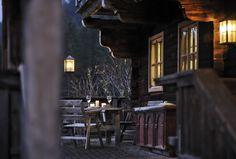 Abendstimmung auf der Terrasse #RefugiumTilliach  #Osttirol #Selbstversorgerhaus Bild: Oskar Dariz Patio, Steam Bath, Recovery, Pictures