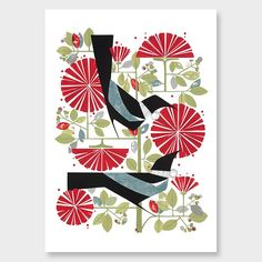 December Print by Holly Roach - Art Prints NZ Art Prints, Design Prints, Posters & NZ Design Gifts | endemicworld