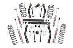 Rough Country Suspension Systems // 4in Jeep Suspension Lift Kit - $499.95
