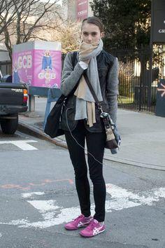 New York Fashion Week Fall 2012 Models