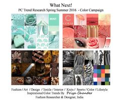 #fashion #art #design #pctrendresearch #India #mint #coral #brown #grey #colors #colortrends #pantone #colortrends2016 #colorpalette #weave #couture #menswear #womenswear #kidswear #sportswear #knitwear #interiordesign #homedecor #blockprint #print #pattern #graphic #wallart #scarves