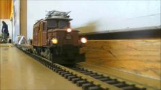 awesome LGB RAILWAY RC MODEL IN LIVE ACTION
